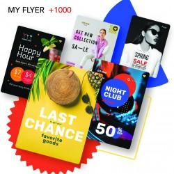 +1000 flyer bon marché +4 jours